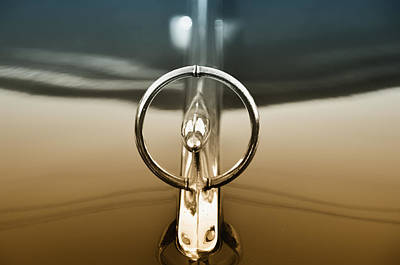 1948 Buick Eight Super Hood Ornament Print by Bill Cannon