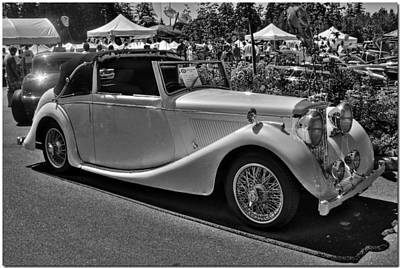 Photograph - 1948 Jag by Chris Anderson