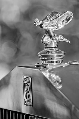 Photograph - 1948 Rolls-royce Hood Ornament 2 by Jill Reger