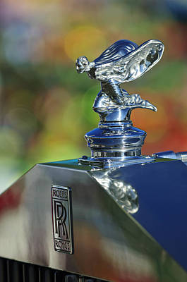Photograph - 1948 Rolls-royce Hood Ornament by Jill Reger