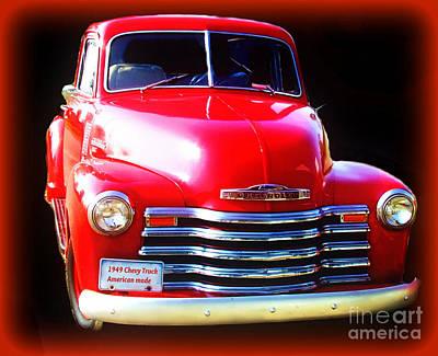 Photograph - 1949 Chevy Truckamerican Made by Scott B Bennett