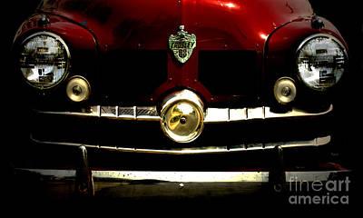 Antique Automobiles Photograph - 1949 Crosley  by Steven Digman