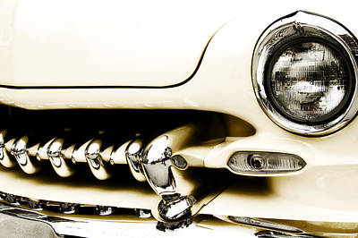 Chrome Wall Art - Photograph - 1949 Mercury by Scott Norris