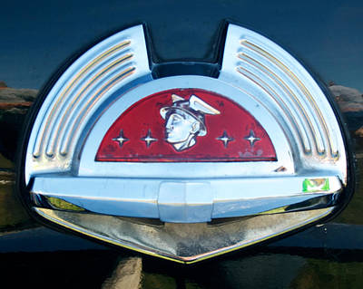 Photograph - 1950 Mercury Logo by Mark Dodd