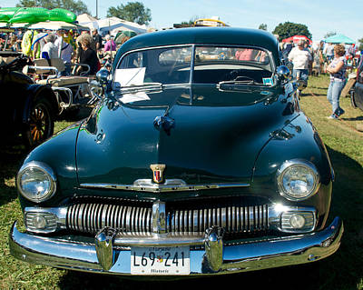 Photograph - 1950 Mercury by Mark Dodd