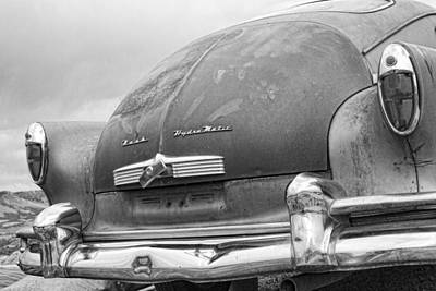 Photograph - 1950 Nash Hydra-matic Back End  Bw by James BO  Insogna