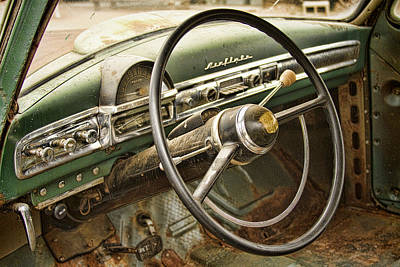 Photograph - 1951 Nash Ambassador Interior by James BO  Insogna
