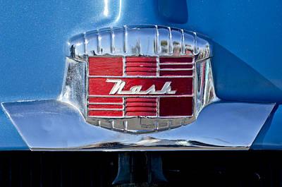 Photograph - 1951 Nash Emblem by Jill Reger
