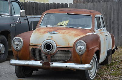 Photograph - 1951 Studebaker by Randy J Heath