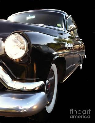 1952 Buick Side View Art Print by Elizabeth Coats