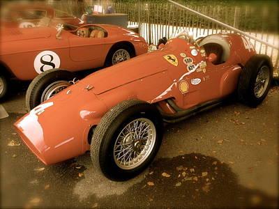 Art Print featuring the photograph 1952 Ferrari 500 625 by John Colley