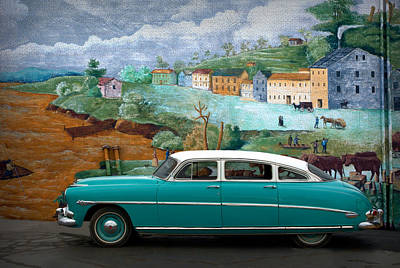 Photograph - 1952 Hudson 4 Door by Tim McCullough