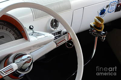 1952 Mercury Interior Art Print by Bob Christopher