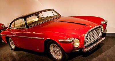 Vehicles Photograph - 1953 Ferrari 212 Vignate Coupe by David Patterson