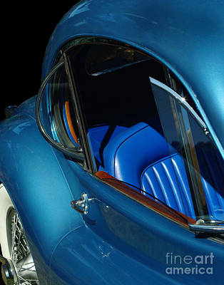 Photograph - 1953 Jaguar 120m Wind Wings by Peter Piatt