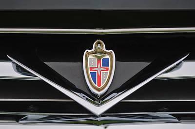 Photograph - 1953 Lincoln Capri Derham Coupe Emblem by Jill Reger