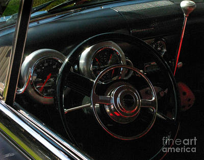 Photograph - 1953 Mercury Monterey Dash by Peter Piatt