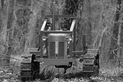 1953 Oliver Tractor Art Print