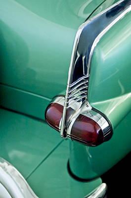 Photograph - 1953 Packard Caribbean Convertible Taillight by Jill Reger