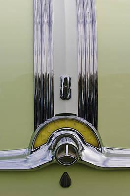 1953 Pontiac Photograph - 1953 Pontiac Emblem by Jill Reger