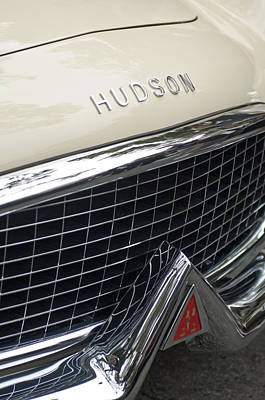 Photograph - 1954 Hudson Italia Touring Coupe Grille by Jill Reger
