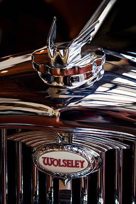 1954 Wolseley 6 80 Police Car Art Print by David Patterson