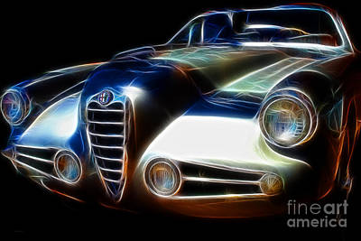 Photograph - 1955 Alfa Romeo 1900 Ss Zagato by Wingsdomain Art and Photography