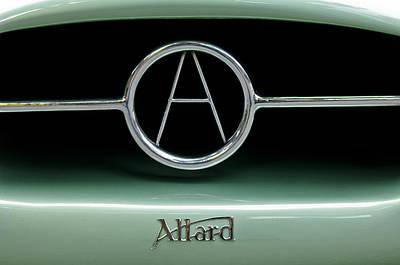 Photograph - 1955 Allard J2r Emblem by Jill Reger