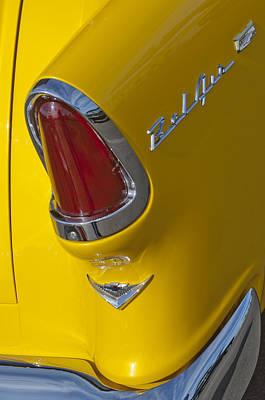 Photograph - 1955 Chevrolet Nomad Taillight by Jill Reger