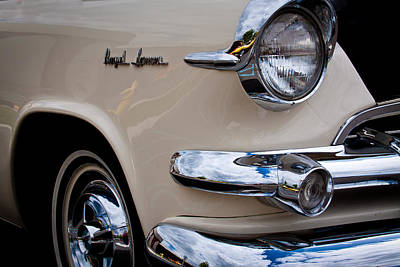 1955 Dodge Royal Lancer Sedan Art Print by David Patterson