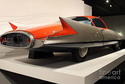 1955 Ghia Streamline X Gilda Concept Car - 7d17263 Art Print by Wingsdomain Art and Photography