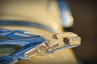 1955 Pontiac Star Chief Hood Ornament  Original by Gordon Dean II
