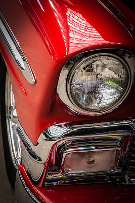 Photograph - 1956 Chevrolet by James Woody