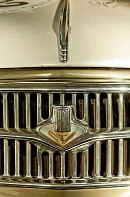 Photograph - 1956 Fiat 1100 Tv Hood Ornament by Jill Reger