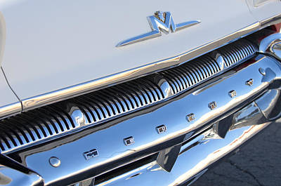 Photograph - 1956 Mercury Coupe Grille by Jill Reger