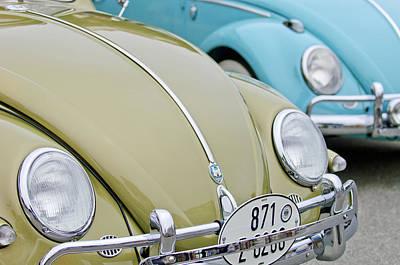 1956 Volkswagen Vw Bug Photograph - 1956 Volkswagen Vw Bug by Jill Reger