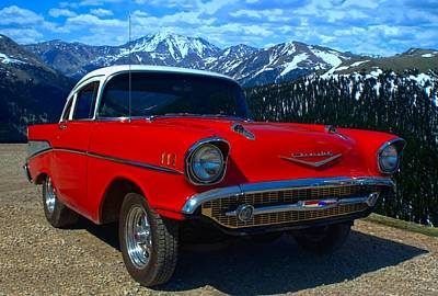 Photograph - 1957 Chevy Stubby by Tim McCullough