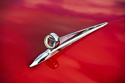 Photograph - 1957 Ford Fairlane 500 Hood Ornament by  Onyonet  Photo Studios