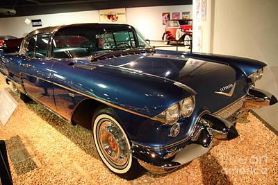 1958 Cadillac Eldorado Series 70 Brougham Art Print by Wingsdomain Art and Photography