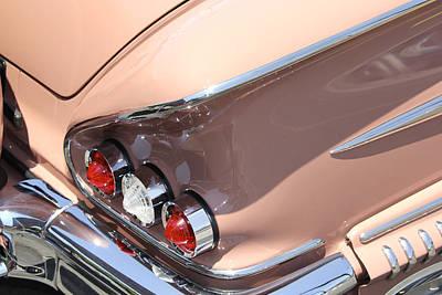 Street Rod Photograph - 1958 Chevrolet by Mike McGlothlen