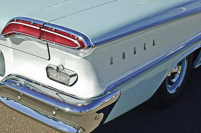 Photograph - 1958 Edsel Ranger Taillight by Jill Reger
