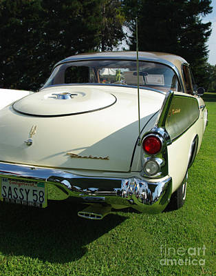 Photograph - 1958 Packard Hawk by Peter Piatt
