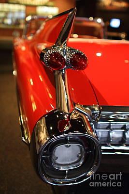 1959 Cadillac Convertible - 7d17385 Art Print by Wingsdomain Art and Photography