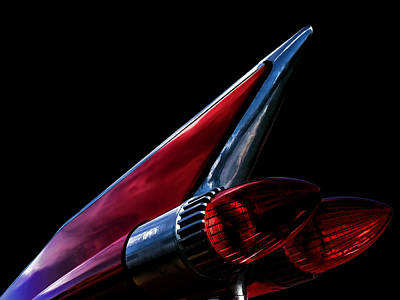 Chrome Wall Art - Digital Art - 1959 Cadillac Tailfin by Douglas Pittman