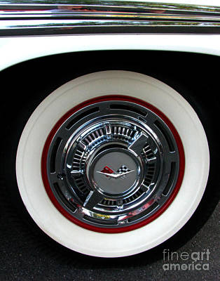 Photograph - 1959 Chevrolet Impala Rim by Peter Piatt