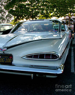 Photograph - 1959 Chevrolet Impala Taillight by Peter Piatt