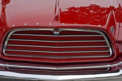 Chrysler 300 Photograph - 1959 Chrysler 300 Grille Emblem by Jill Reger