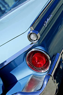 Photograph - 1959 Ford Skyliner Convertible Taillight by Jill Reger