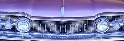 Photograph - 1959 Oldsmobile Dynamic 88 2 Door Hardtop Grille Emblem by Jill Reger