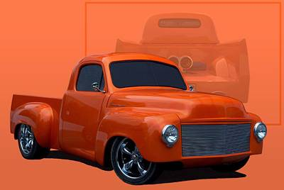 Photograph - 1959 Studebaker Pickup Truck by Tim McCullough
